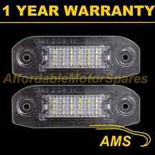 2x Para Volvo S80 S40 S60 V50 V60 C70 Xc60 Xc70 V70 XC90 18 Led matrícula Lámpara