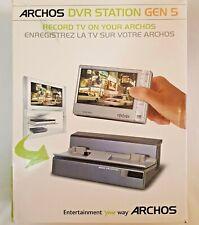 Archos DVR Station Gen 5 Charging Cradle for 405 605 Media Players w/ Remote