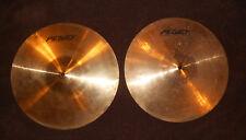 """14"""" hi hat cymbals Peavey international series II (pair)"""