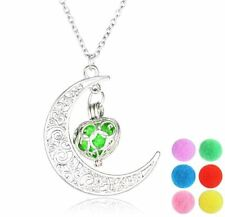 New Essential Oil Diffuser Necklace 6 Changeable Pads Multicolor USA