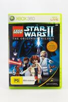 Microsoft Xbox 360 Lego Star Wars 2 The Original Trilogy Complete With Manual