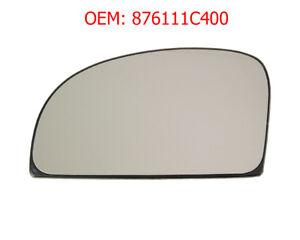 Left Mirror Glass Heated Exterior For Hyundai Getz