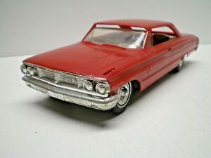 1964 Galaxie 500 Test shot Promo in red plastic 1/25th scale  L@@K!