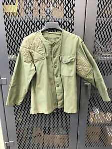 USMC Competition Shooting Jacket Olive Drab Green Vintage Padded
