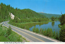 postcard USA  Idaho North Fork of Payette River   unposted