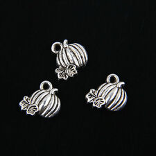 50pcs Tibetan Silver Pumpkin Pendants Charms for Jewelry Making FA599