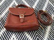 Vintage COBB & CO Leather Brown Shoulder Crossbody Bag Handbag B41