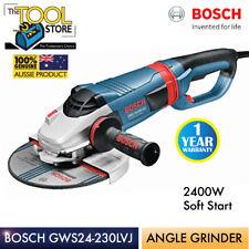 BOSCH GWS24-230 LVJ 2400W SOFT START ANGLE GRINDER