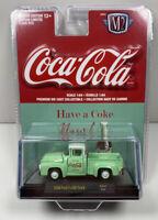 M2 Machines Coca Cola Limited Edition 1956 Ford F-100 Truck GG01 NIP NEW