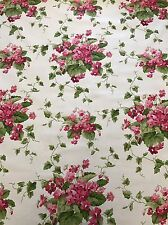 Sweet Violets Pink Waverly Fabric BY THE YARD