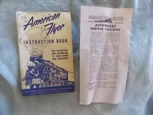 Vintage 1952 American Flyer Instruction Book AC Gilbert Co Planning Your Train