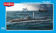 """Mikro-Mir - 144-010 - The Russian Empire submarine """"Delfin"""" - 1:144"""