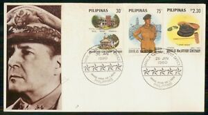 Mayfairstamps PHILIPPINE ISLANDS FDC 1980 COVER DOUGLAS MCARTHUR COMBO wwm19349