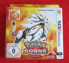 Pokemon Sonne Fan-Edition mit Steelbook, 3D Nintendo 3DS Spiel, Neu