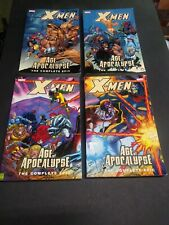 X-MEN AGE of APOCALYPSE  - THE COMPLETE EPIC  - BOOK 1,2,3,4 Complete story