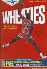 Empty Wheaties Collectors Box - Michael Jordan Chicago Bulls HOF