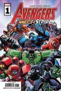 """Avengers Mech Armor Strike 24"""" x 36"""" Folded Promo Poster Marvel 2021"""