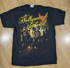 Retro Hollywood Undead Band T-Shirt , Flaming Bird, Medium, Rock/Rap, Metal
