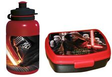STAR WARS FORCE AWAKENS SCHOOL LUNCH PICNIC SANDWICH BOX & DRINK BOTTLE 291914