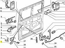 FIAT DUCATO CITROEN c25 TALBOT EXPRESS interno maniglia porta scorrevole 181864260 NUOVO