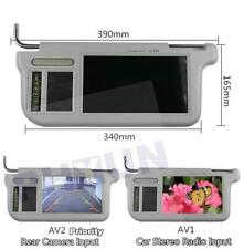 """9"""" Rear View Mirror Screen Lcd Monitor For DVD/VCD/GPS/TV Input Signal Left Side"""