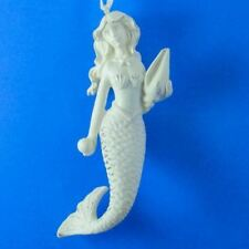 Mermaid Ornament with Shell 12119S