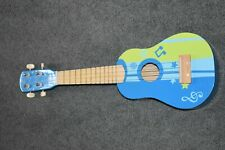 New listing Hape child Ukelele E0600 Flower Power 60s Themed Kid Wooden Toy Musical children