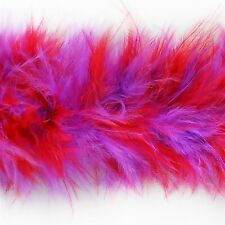 """E6148 ~ PEACOCK MARABOU FEATHER SEWING TRIM 2/""""  ~4000 ITEMS IN STOCK @ :"""