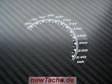 Harley Davidson V-Rod Tacho Aufkleber Muscle VRSCF kmh decal Gauge cluster dial