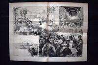 Il Carnevale di Roma del 1882 Incisione del 1882
