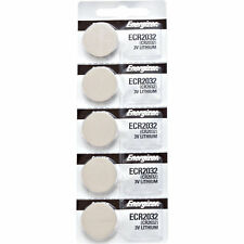 5 x Energizer CR2032, 2032 Lithium Batteries