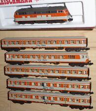 Fleischmann 7239 N Diesellok BR 218 137-8 mit 5 x Citybahnwagen DB Epoche4/5