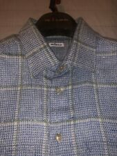 $2495 Kiton Men Cashmere Shirt Hand Made in Italy