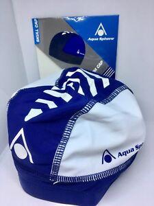 Aquasphere Skull Cap One Size Navy- White Swimming cap new CHEAPEST ONLINE