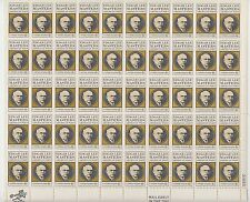 sheet of 50 EDGAR LEE MASTERS / AMERICAN POET stamps - Scott #1405 *LOWEST PRICE