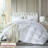 DUCK FEATHER 13.5 TOG QUILT DUVET Hypoallergenic Super Soft Bedding In All SIzes