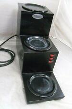 American Metal Ware Grindmaster 3 Tier Coffee Pot Warmer Bw 3tbl