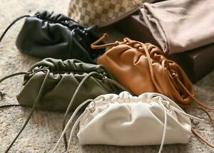 Womens Dumpling Shoulder Crossbody Messenger Pouch Bag Fashion Clutch Purse UK