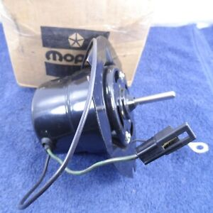 NOS A/C Blower Motor 1974 Dodge Challenger 74 Plymouth Barracuda Cuda 3837343