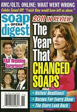 Soap Opera Digest Magazine - December 20, 2011 - Susan Lucci, Year In Review