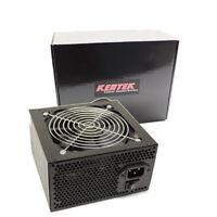 KENTEK 650 Watt 120mm Fan ATX 600W 650W Black SATA PCIE Power Supply Quiet
