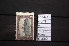 FRANCOBOLLI OCCUPAZIONI FIUME NUOVI** N°19 (F16445)