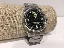 Nuovo Orologio Watch Montre U.S. POLO ASSN. Sport Black Steel Cinturino Strap