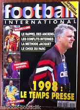 Football International n°24 du 10/1996; La méthode Jacquet/ Batistuta/ Leboeuf