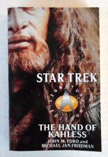 Star Trek Signature Edition The Hands of Kahless Paperback Novel