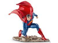 Figurine Superman DC Comics Super Héros 10cm Justice League Jouet Schleich 22505