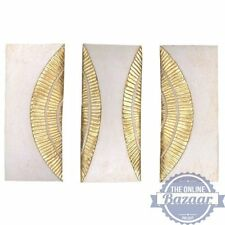 Rock Rings Wall Plaques Set Of 3, Wall Art