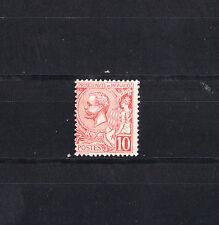 MONACO  prince Albert 1er  10c  rouge   num: 23  *