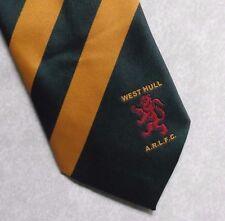 Vintage RUGBY Tie Mens Necktie Retro Sport WEST HULL ARLFC LEAGUE