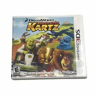 DreamWorks SUPER STAR KARTZ (Nintendo 3DS, 2011) COMPLETE